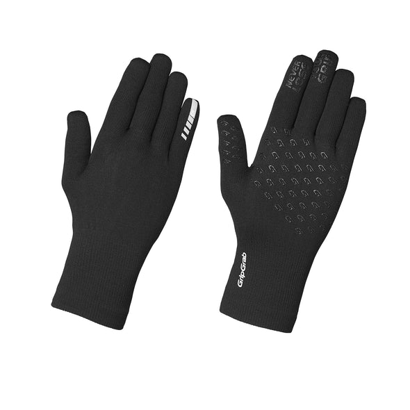 Grip Grab knitted waterproof gloves - Black