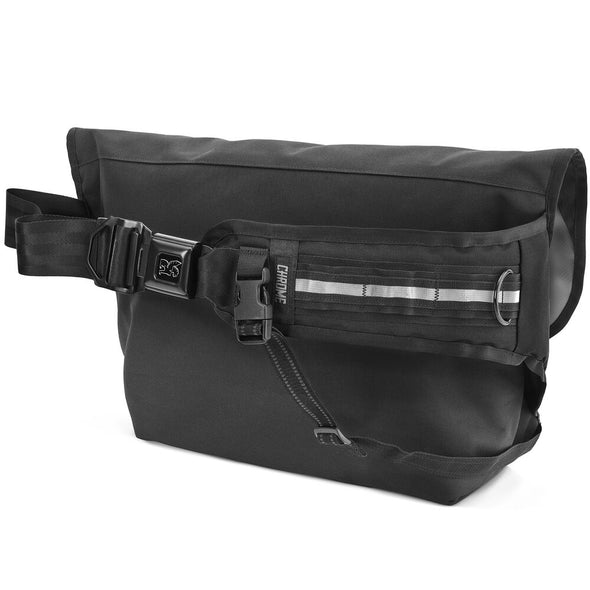 Iconic messenger bag with seatbelt buckle. Functional and durable. Choice of pro messengers around the world. Since 1995. Guaranteed For Live
