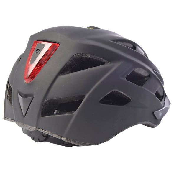 Oxford Metro V helmet (Built in Light) -  black