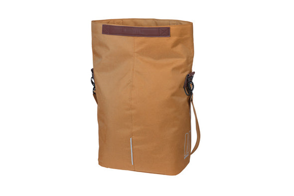 Basil City Shopper - camel brown