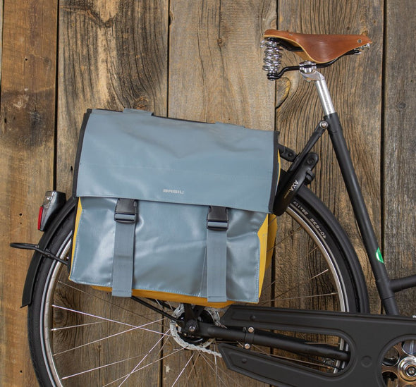 bag pannier shoulder bag messenger basil