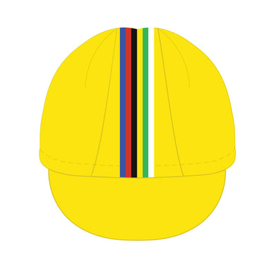 Vera Cycling Cap - Champion yellow