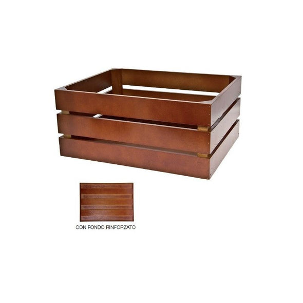 BRN Versilia brown wooden crate