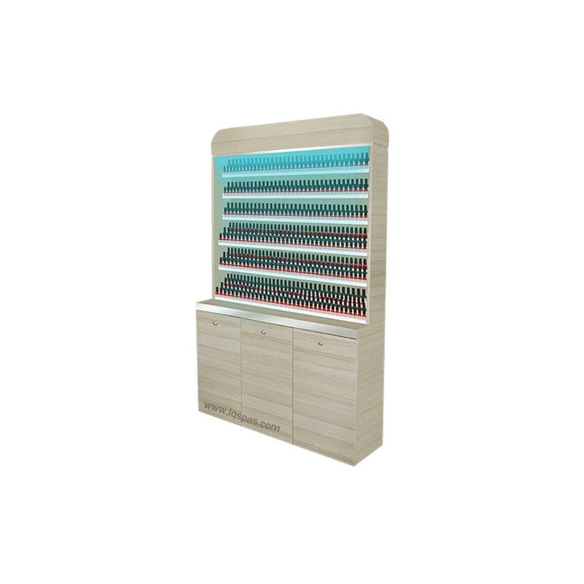 "I Polish Rack With Gel Color Cabinet - 48"" (517)"