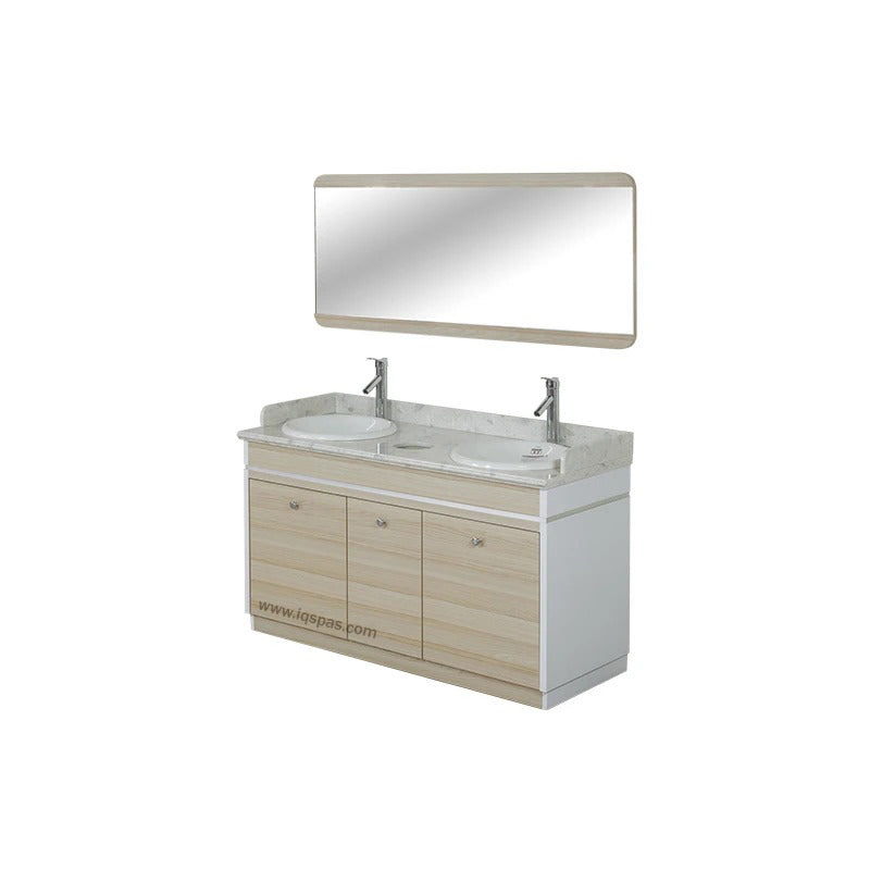 "I Double Sink With Faucets - 55"" (517)"