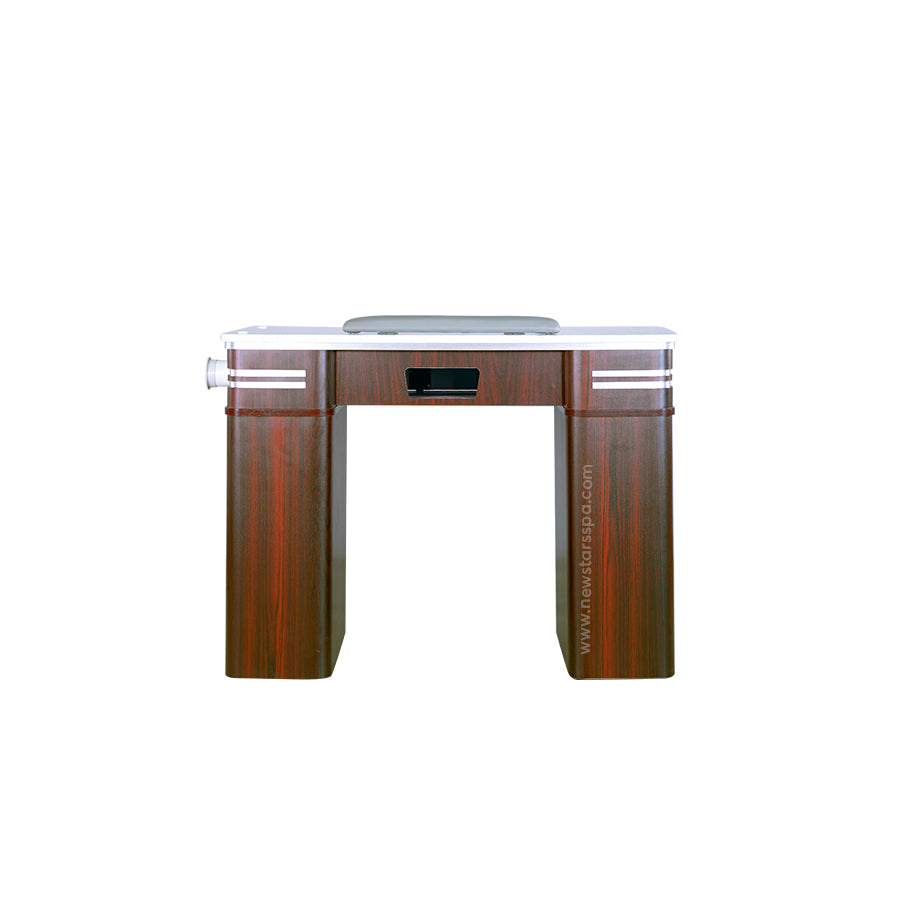 Q Nail Table With Pipe - 39 3/4""