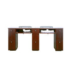 Q Double Nail Table With Pipe- 72 1/2