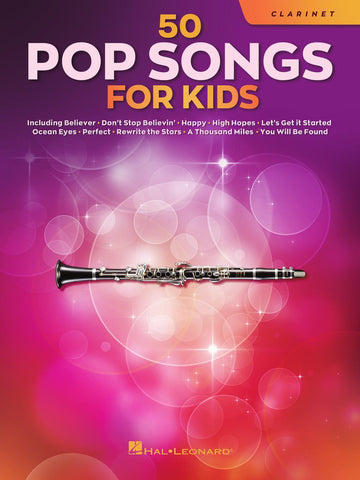 50 Pop Songs for Kids - Clarinet