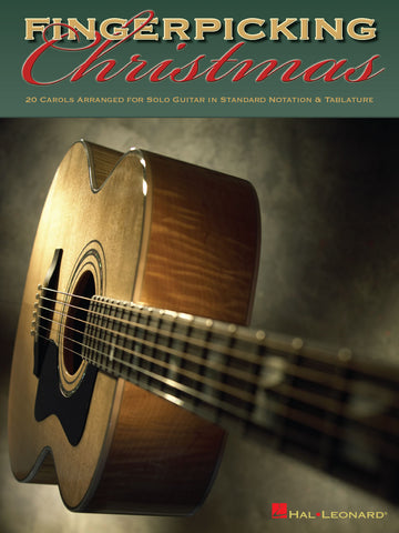 Fingerpicking Christmas - 20 Carols Arranged for Solo Guitar