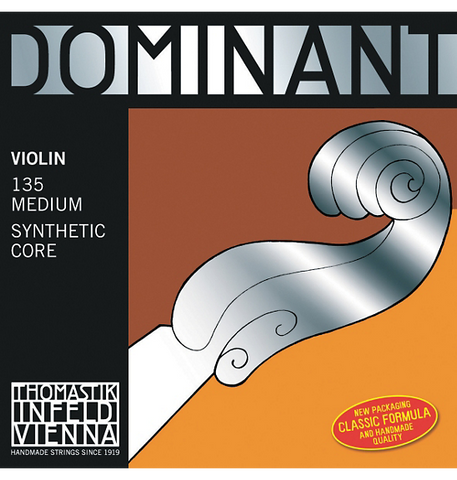 Thomastik Dominant Violin String Set, 4/4 Ball End