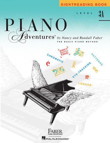 Piano Adventures Level 3A Sightreading Book