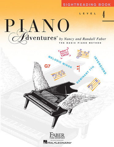 Piano Adventures Level 4 Sightreading Book