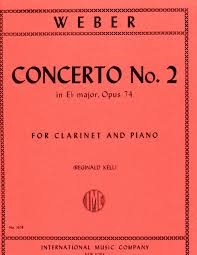 Concerto No. 2 in E Flat Minor for Clarinet and Piano, Op. 74 (J.118) - Weber