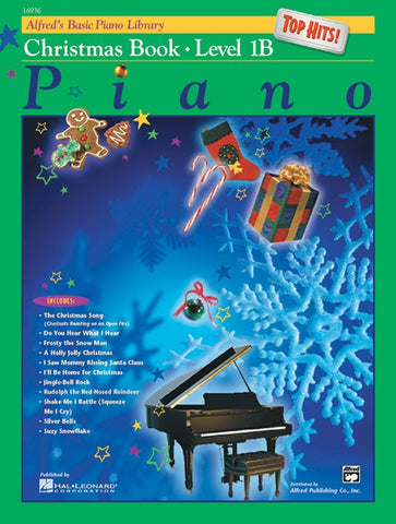 Alfred's Basic Piano Library: Christmas 1B