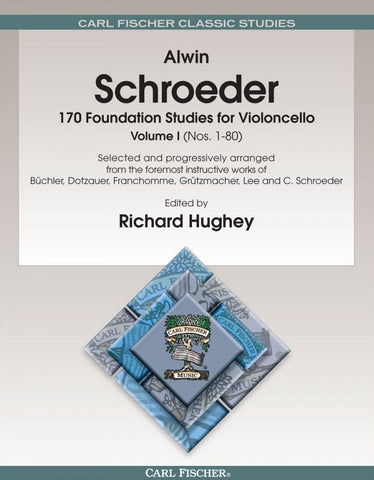 Schroeder 170 Foundation Studies Volume 1 for Violoncello