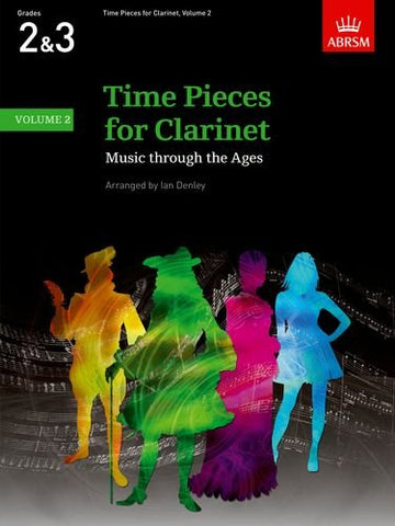 Time Pieces for Clarinet Volume 2 - Denley