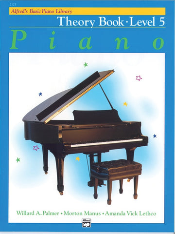 Alfred's Basic Piano Library: Theory Book 5