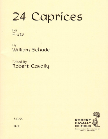 24 Caprices for Flute - Schade