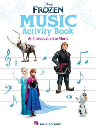 Frozen Music Activity Book
