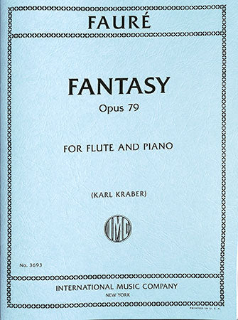 Fantasy for Flute and Piano, Op. 79 - Fauré