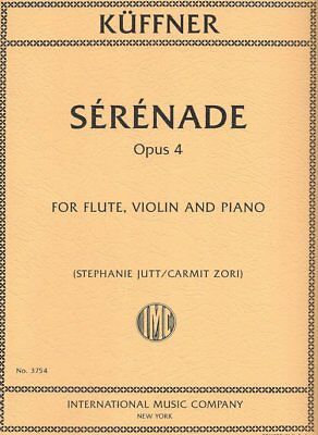 Serenade Op. 4 for Flute, Violin, and Piano - Kuffner