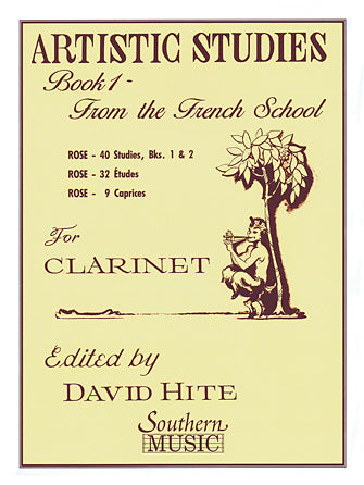 Artistic Studies, Book 1 (French School) for Clarinet