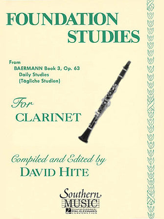 Foundation Studies, Op. 63 for Clarinet