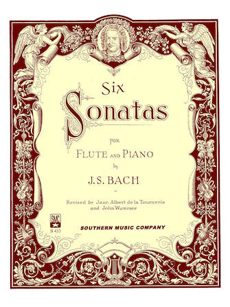 Six Sonatas for Flute and Piano - J.S. Bach