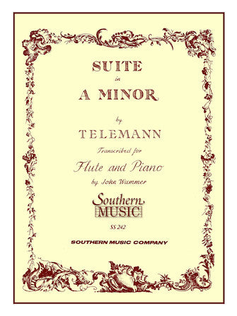 Suite in A Minor for Flute and Piano - Telemann