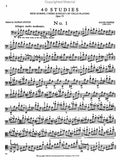 Popper, 40 Etudes High School of Cello Playing