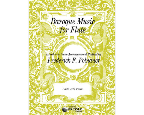 Baroque Music for Flute edited by Polnauer
