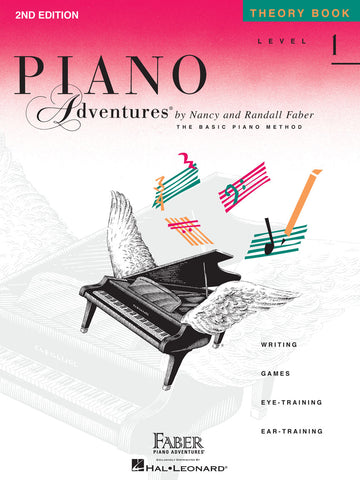 Piano Adventures Level 1 Theory Book