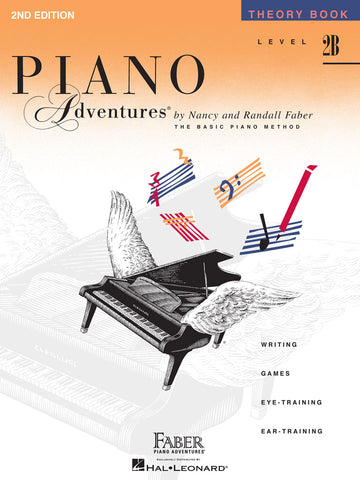 Piano Adventures Level 2B Theory Book