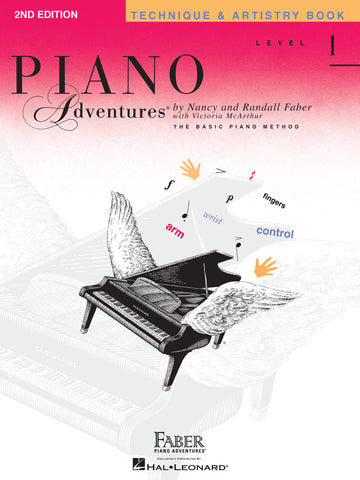 Piano Adventures Level 1 Technique & Artistry Book