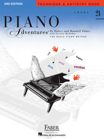 Piano Adventures Level 2A Technique & Artistry Book