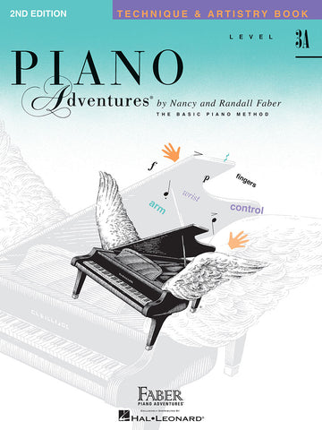 Piano Adventures Level 3A Technique & Artistry Book