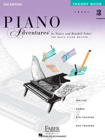 Piano Adventures Level 3B Theory Book