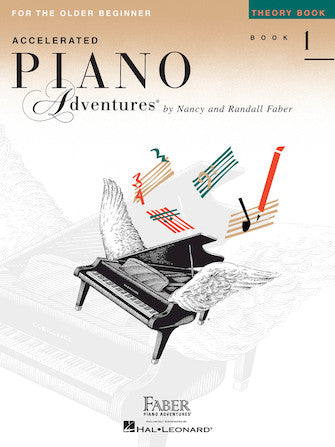 Accelerated Piano Adventures for the Older Beginner Level 1 Theory Book