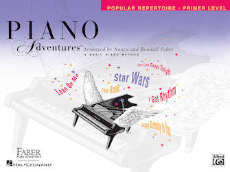 Piano Adventures Primer Level Popular Repertoire Book