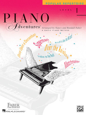 Piano Adventures Level 1 Popular Repertoire Book