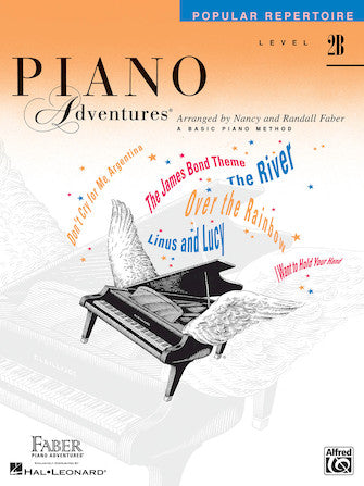 Piano Adventures Level 2B Popular Repertoire Book