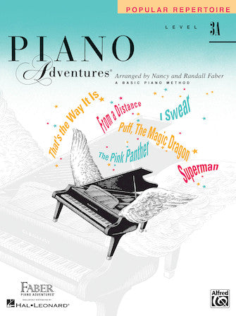 Piano Adventures Level 3A Popular Repertoire Book