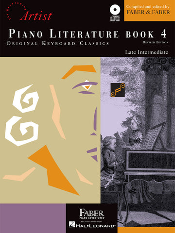 Piano Literature Book 4 Late Intermediate