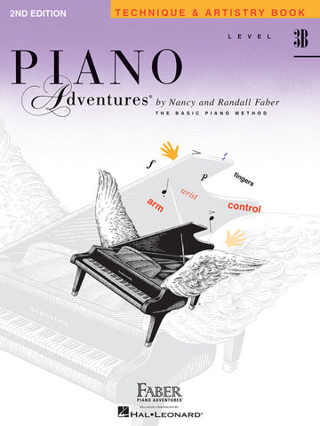 Piano Adventures Level 3B Technique & Artistry Book