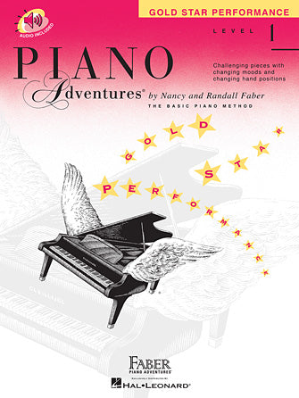 Piano Adventures Level 1 Gold Star Performance Book