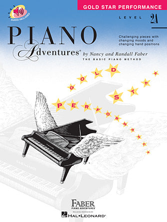 Piano Adventures Level 2A Gold Star Performance Book