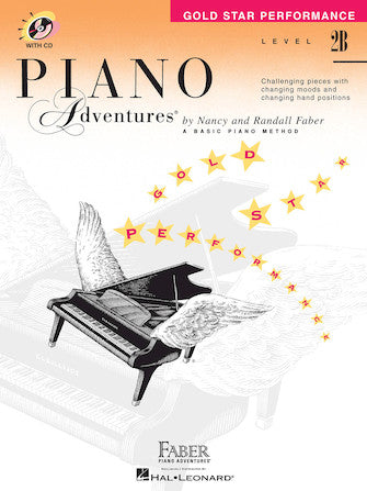Piano Adventures Level 2B Gold Star Performance Book