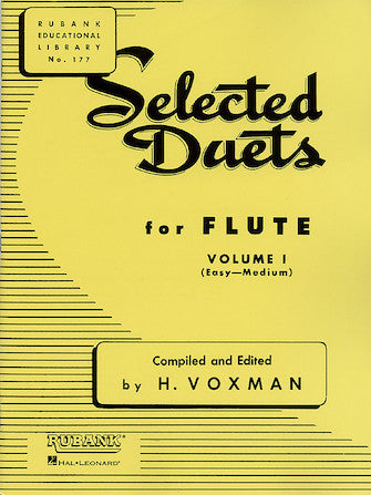 Selected Duets for Flute Volume 1