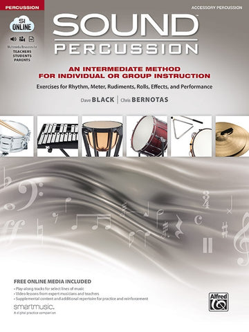 Sound Percussion: Accessory Percussion