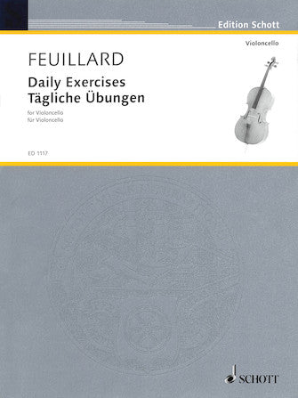 Daily Exercises for the Violoncello - Feuillard